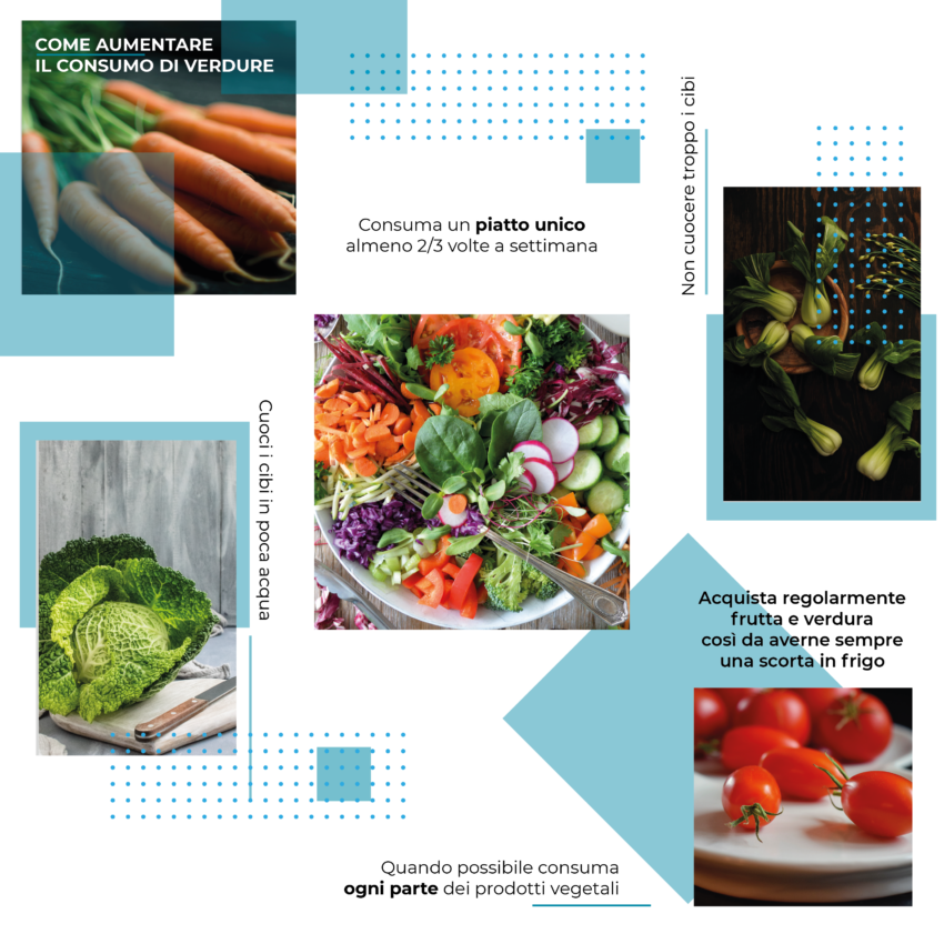 Come aumentare il consumo di verdure