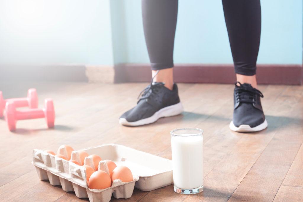 Le proteine nella dieta dell'atleta