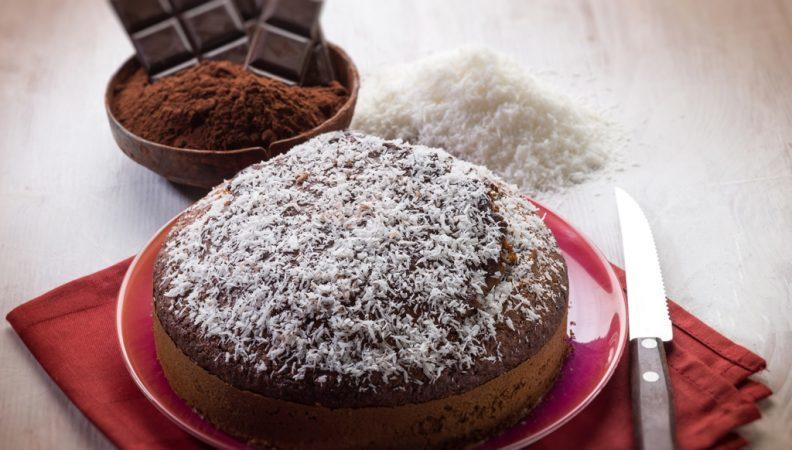 🥥 Torta ciocco cocco senza burro 🥥