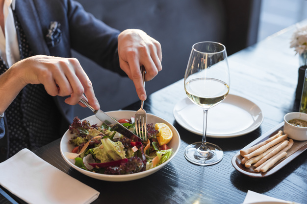 A dieta al ristorante