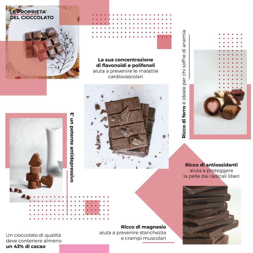 Le proprietà del cioccolato