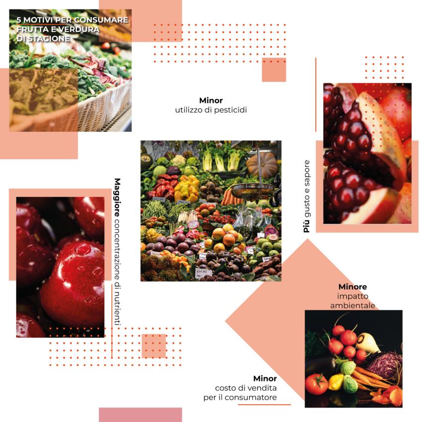 5 Motivi per consumare frutta e verdura di stagione