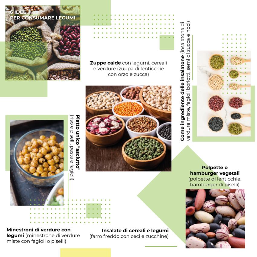 6 idee per consumare legumi