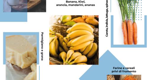 Dieta low fodmap: alcuni alimenti consentiti