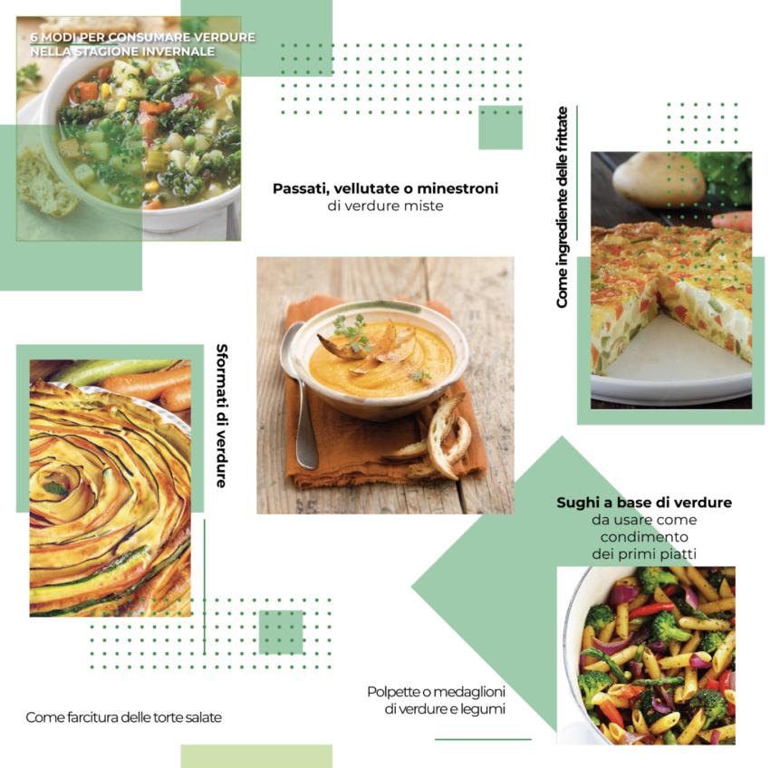 6 idee per consumare verdure nella stagione invernale